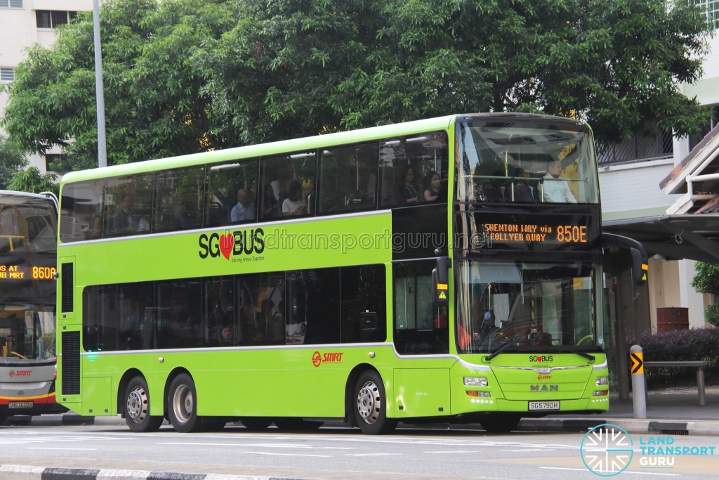 SMRT MAN A95 (SG5790H) - Service 850E - With USB Ports