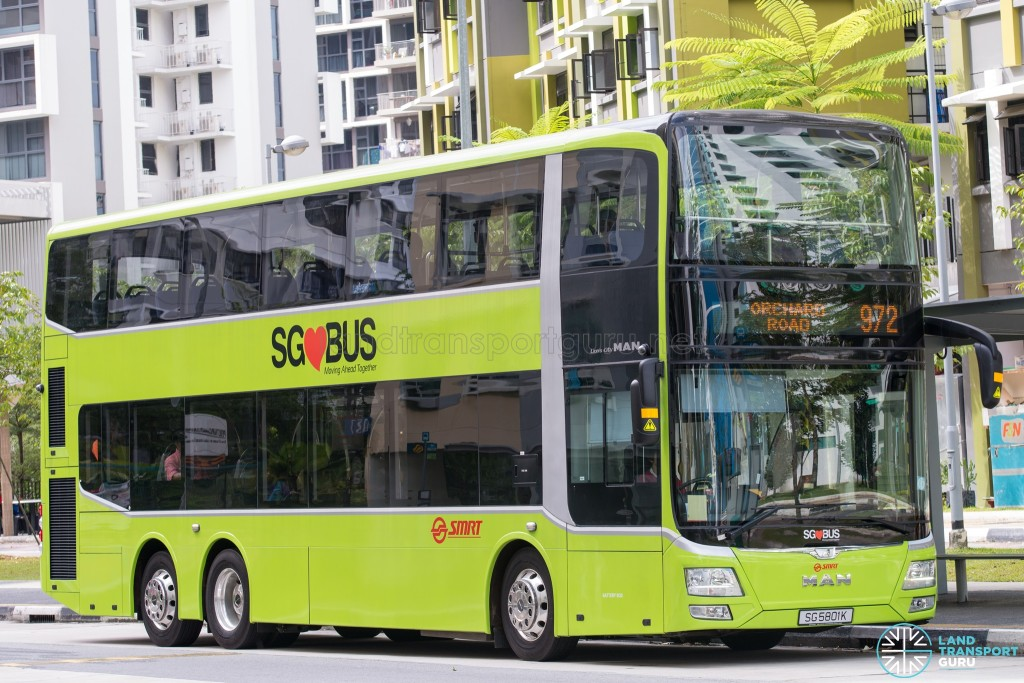 SMRT MAN A95 (SG5801K) - Service 972