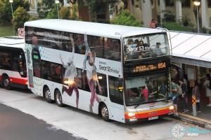 SMRT MAN A95 (SMB5899B) - Service 854