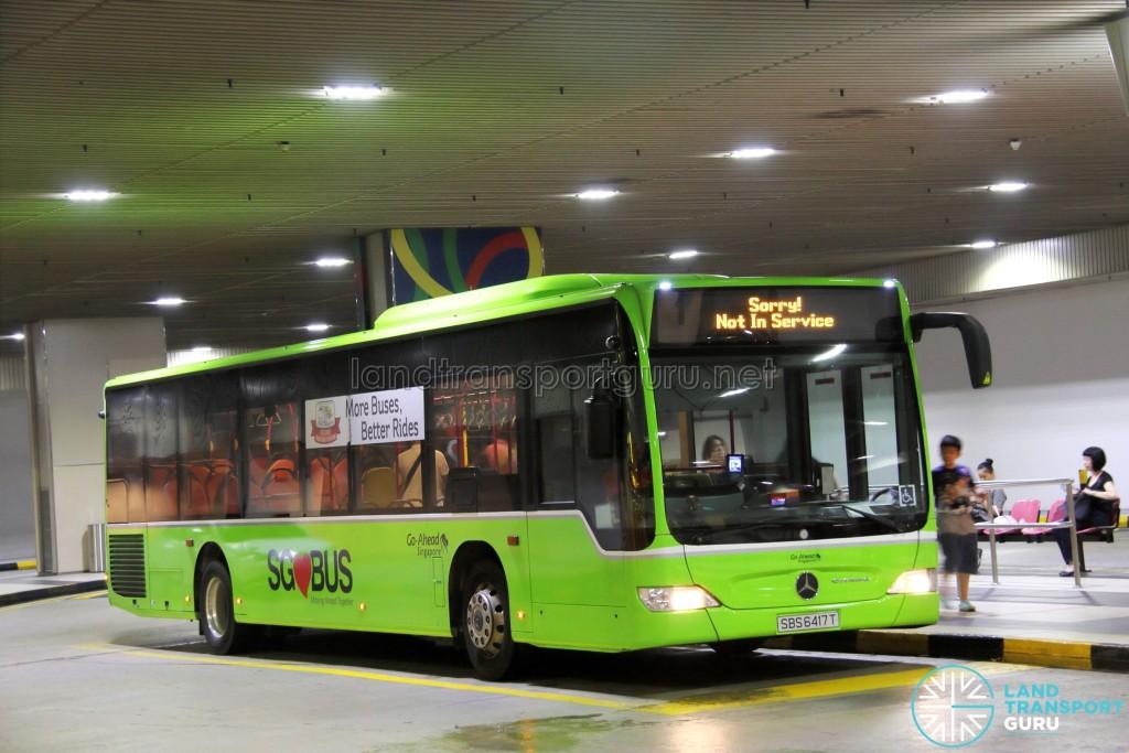 Go-Ahead Mercedes-Benz Citaro (SBS6417T) - Not In Service