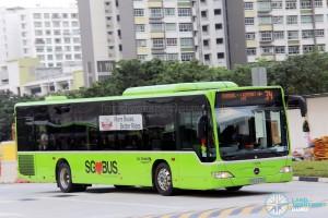 Go-Ahead Mercedes-Benz Citaro (SBS6439E) - Service 34