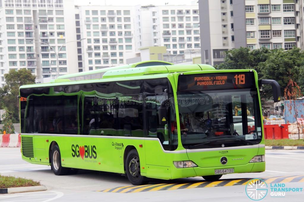 Go-Ahead Mercedes-Benz Citaro (SBS6473E) - Service 119