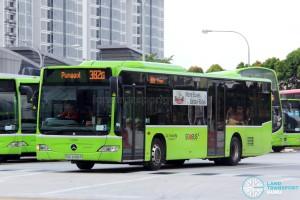 Go-Ahead Mercedes-Benz Citaro (SBS6496P) - Service 382G