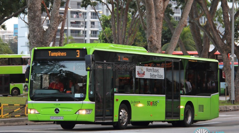 Go-Ahead Mercedes-Benz Citaro (SBS6504A) - Service 3