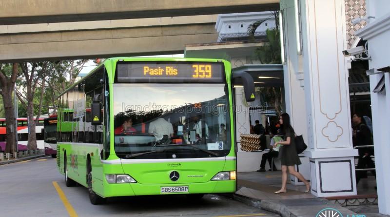 Go-Ahead Mercedes-Benz Citaro (SBS6508P) - Service 359