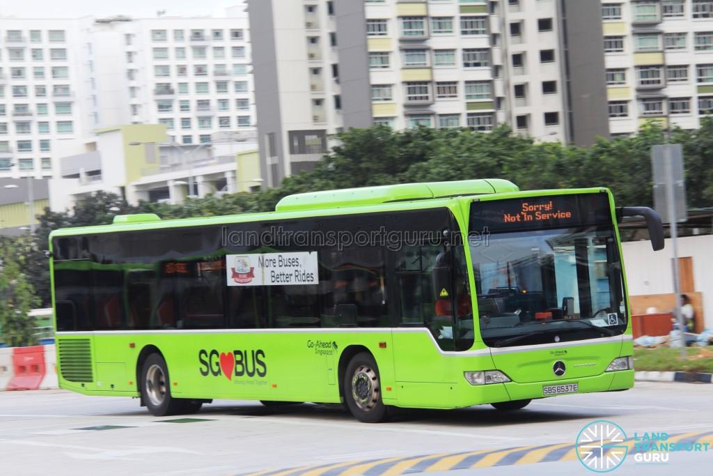 Go-Ahead Mercedes-Benz Citaro (SBS6537E) - Not In Service