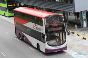 SBS Transit Volvo B9TL Wright (SBS7728P) - Service 240A