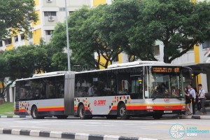 SMRT MAN NG363F (SMB8011B) - Service 811