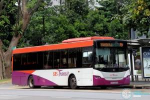 SBS Transit Scania K230UB (SBS8069B) - Service 16