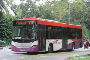 SBS Transit Scania K230UB (SBS8653P) - Service 105
