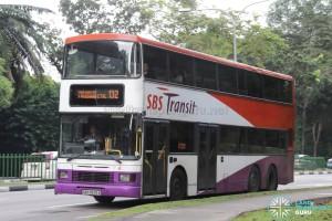SBS Transit Volvo Olympian (SBS9639A) - Service 132