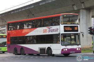 SBS Transit Volvo B10TL (SBS9834C) - Service 88