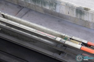 600V AC Power Rail on the Bukit Panjang LRT