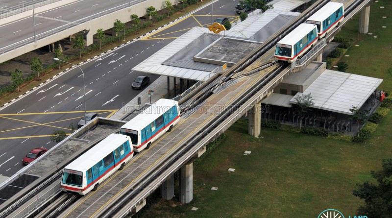 Bukit Panjang LRT - First and Second generation train cars