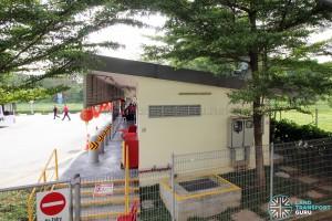 Bukit Panjang Temporary Bus Park - Terminal building
