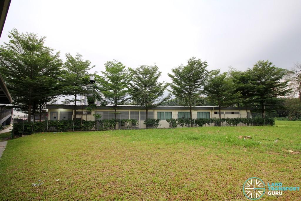 Bukit Panjang Temporary Bus Park - Terminal Building (rear)