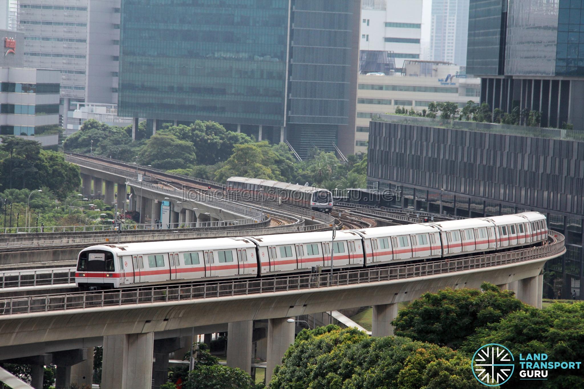 SMRT C651 Train