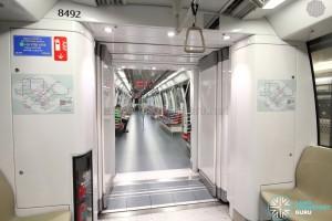 Alstom Metropolis C830C - Gangway connection