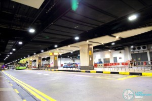 Changi Airport Terminal 1 Basement - Front view