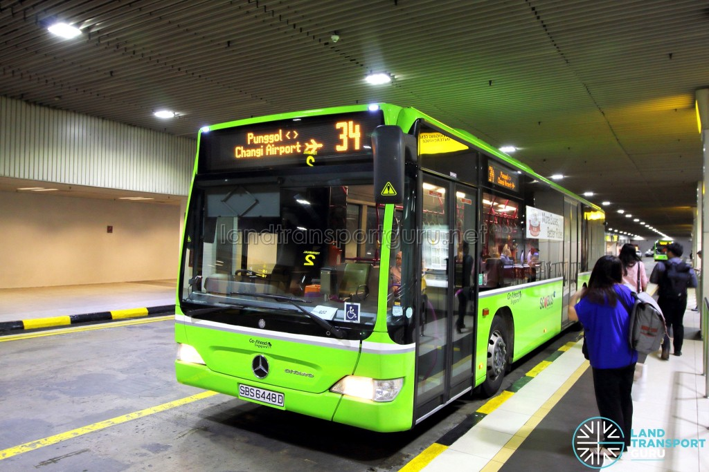 Go-Ahead Mercedes-Benz Citaro (SBS6448D) - Service 34