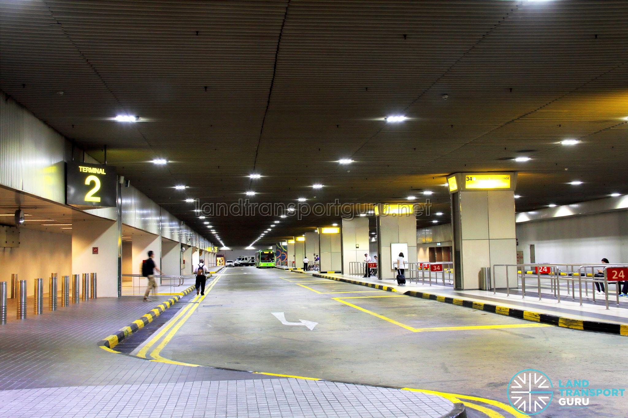 Changi Airport PTB2 Bus Terminal   Land Transport Guru
