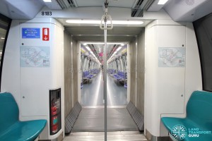 Alstom Metropolis C830 - Gangway connection