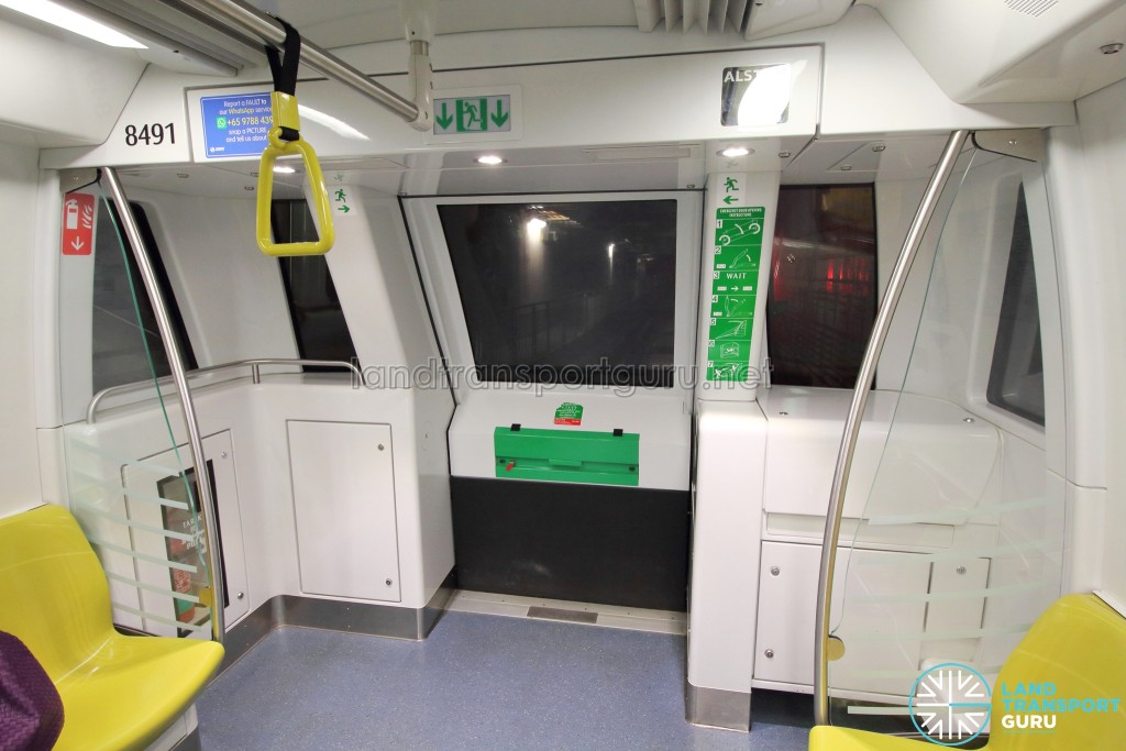 Alstom Metropolis C830C - Car end