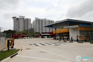 Compassvale Bus Interchange - Sengkang Square egress