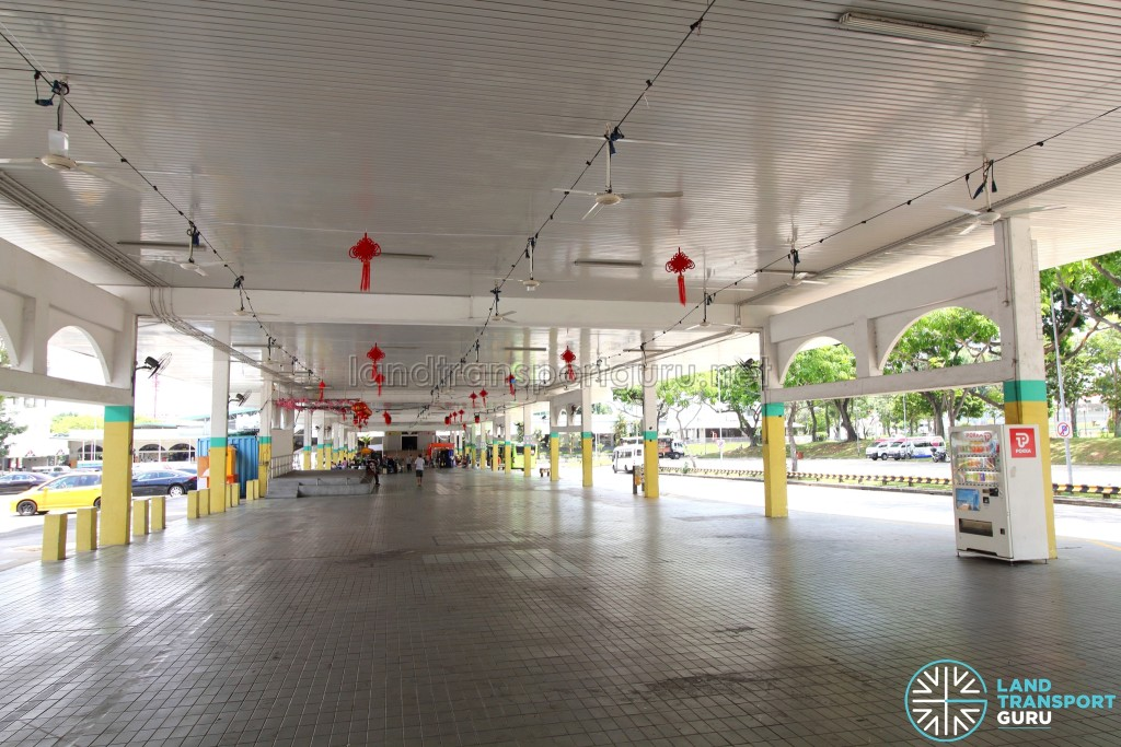 Defunct Hougang South Bus Interchange - Interior