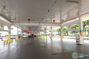 Defunct Hougang South Bus Interchange - Interior