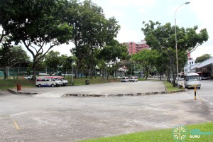 Defunct Hougang South Bus Interchange - Renovated Bus Park
