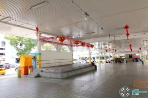 Defunct Hougang South Bus Interchange - Stage for community events
