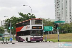 SBS Transit Dennis Trident (SBS9674Y) - Service 87, within the Sengkang Estate