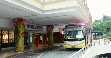 Great World City Shuttle - East Pickup Point for Chinatown/Redhill Routes