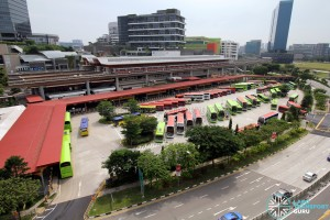 Jurong East Bus Interchange - Overhead