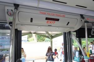 MAN A95 - Exit Door