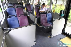 MAN A95 - Lower Deck Seating