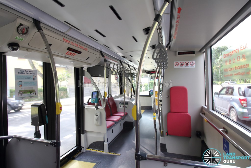 MAN A95 - Lower Deck: Mid to Front