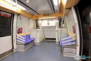 Alstom Metropolis C751A - Car end