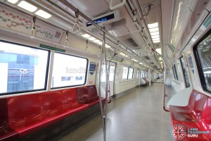 Kawasaki Heavy Industries C151 - Red car interior