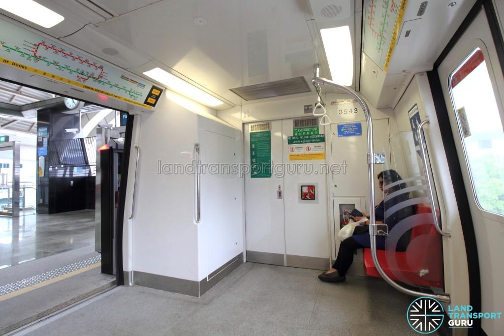 Kawasaki-Sifang C151A - Emergency Exit and Sigalling equipment housing