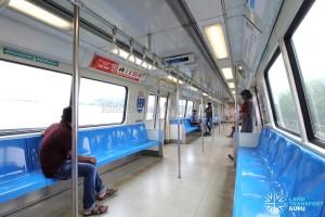 Siemens C651 - Blue car interior