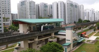 Kadaloor LRT Station - Overhead view