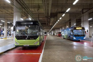 Resorts World Sentosa - Basement Bus Park