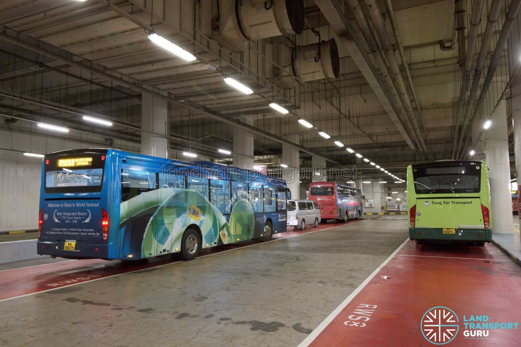 Resorts World Sentosa - Basement Bus Park