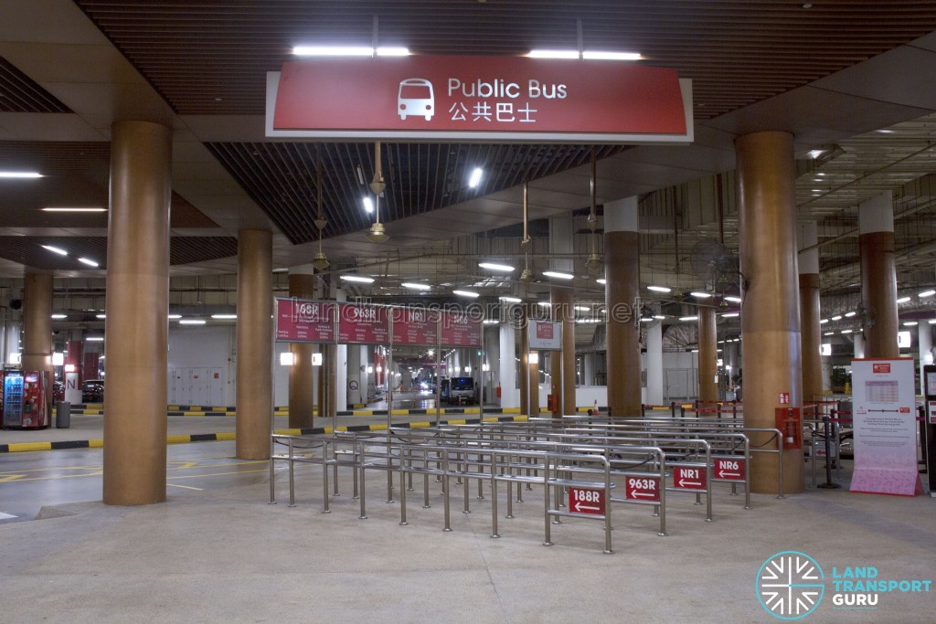 Resorts World Sentosa - Public Bus Berth (Weekday)