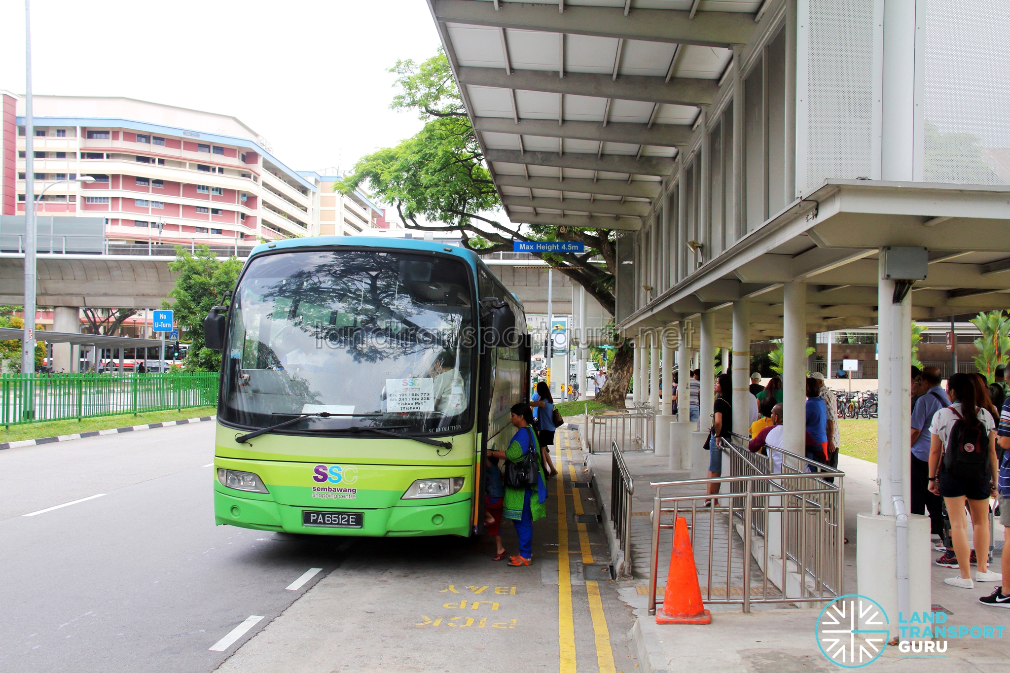 Sembawang Shopping Centre Shuttle Bus Services | Land