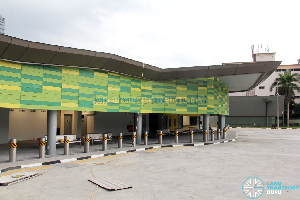 Shenton Way Bus Terminal (unopened) - Terminal Building