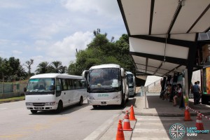 The Grandstand Shuttle - Pickup Point