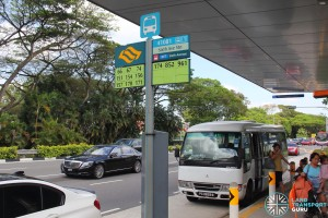 The Grandstand Shuttle - Sixth Avenue Pickup Point